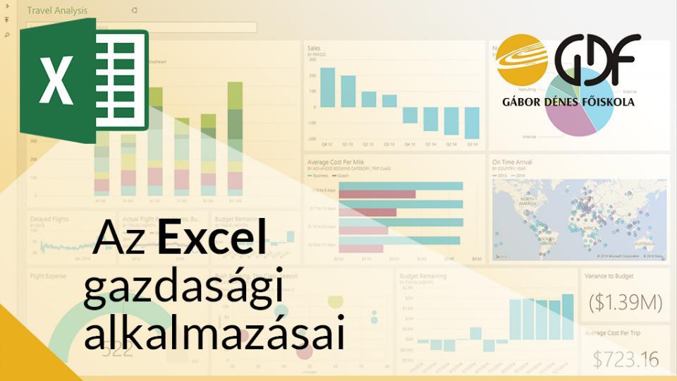 Az Excel gazdasági alkalmazásai