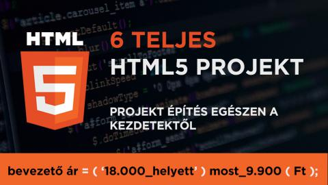 HTML5 Projektek