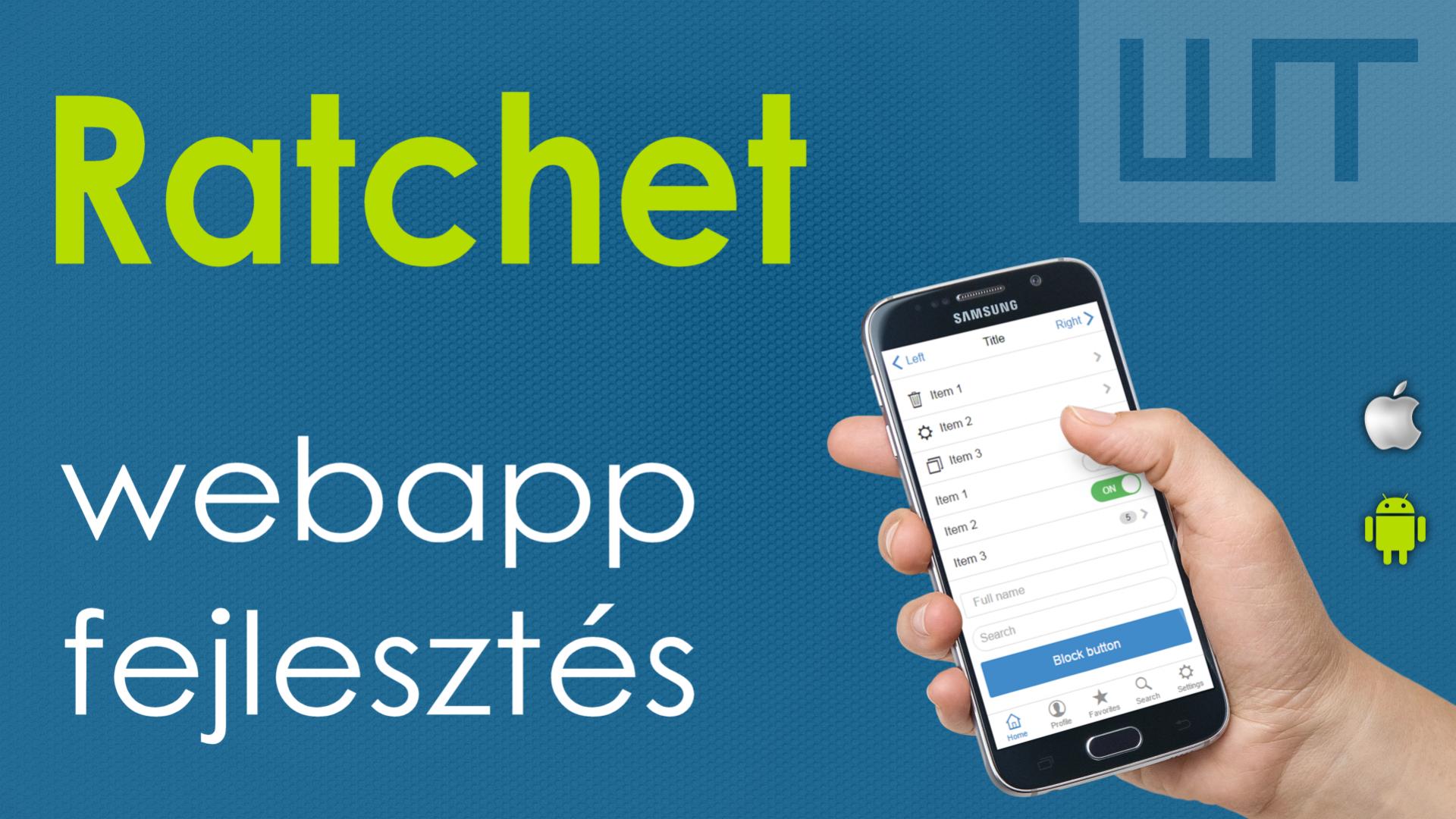 Mobil webapp fejlesztése a Ratchet keretrendszerrel